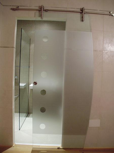Pincel cristal mamparas de ba o y puertas de cristal con bisagra o corredera - Puertas correderas de cristal para banos ...
