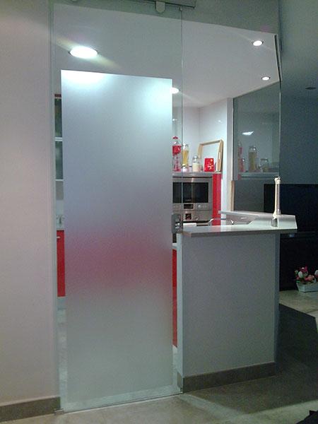 Pincel cristal mamparas de ba o y puertas de cristal con - Cocinas con puertas de cristal ...